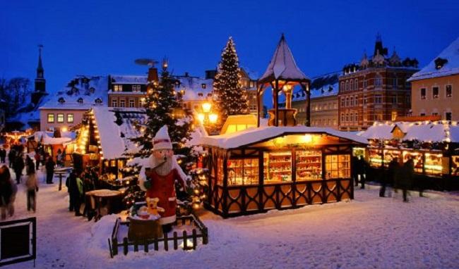 Kerstpakketten naar het buitenland